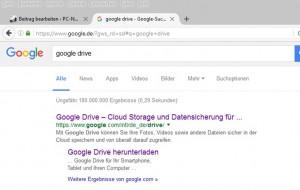 googleDrive-googlesuche