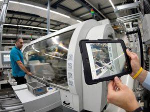 Maschine-Tablet