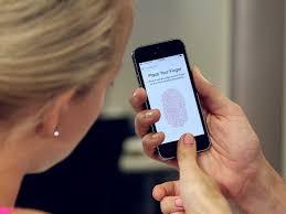 iPhone 5s Fingersensor