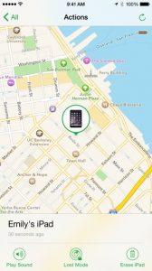 iPhone 5s Suche. Karte